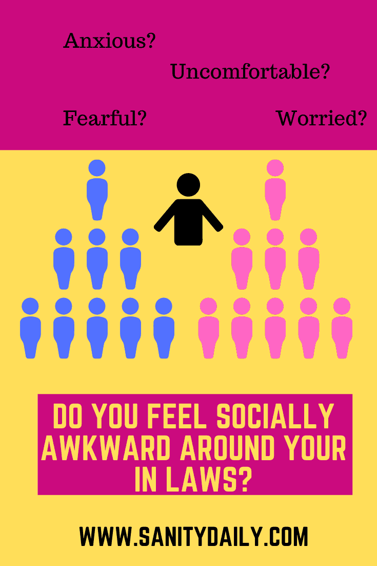 Do you have social anxiety around in laws?