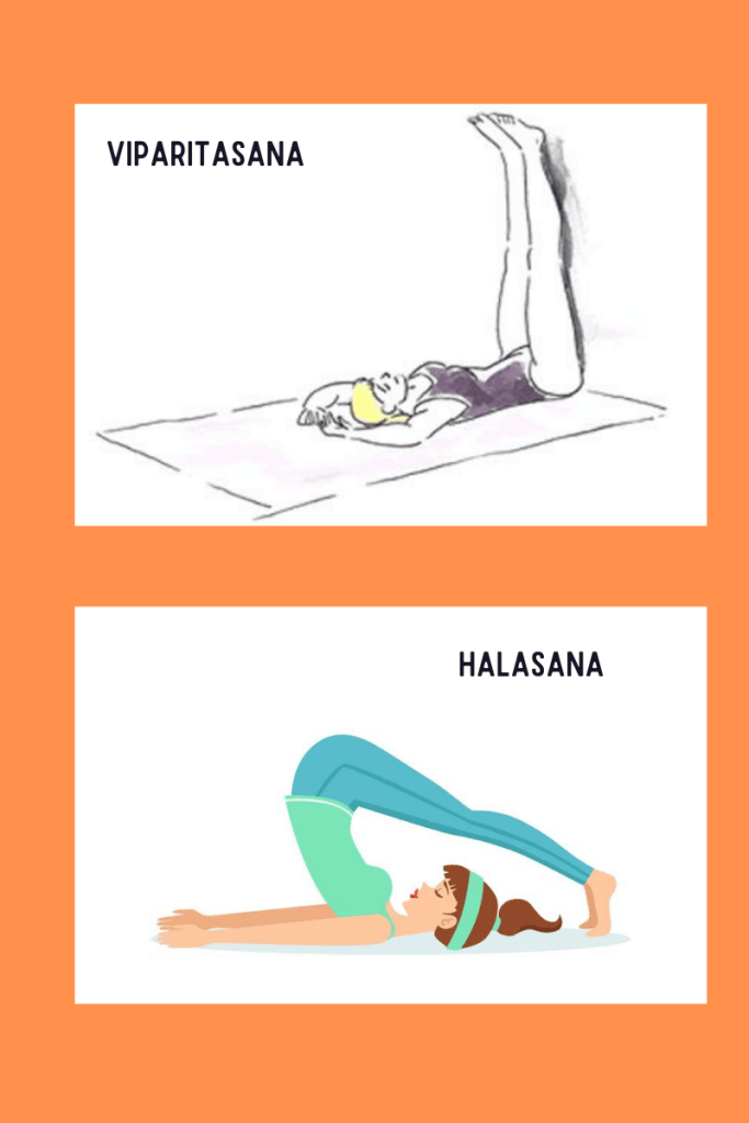 yoga asanas for mental well-being.