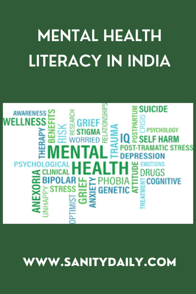 Mental health literacy in India