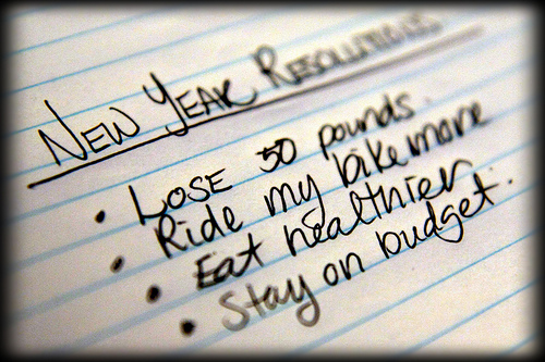 New Years Resolutions you can keep…