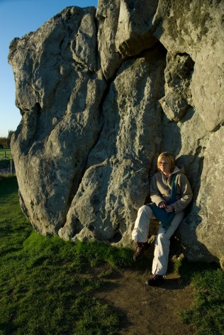 Communing with the stones...