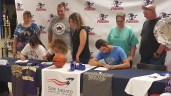 college signing party.5