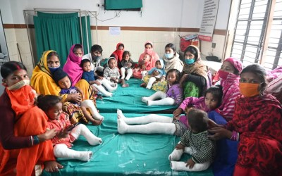 Polio Surgeries Conducted and Prosthetic Limbs Donated