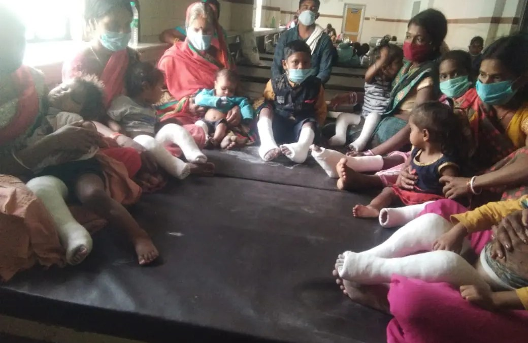 Surgical Plaster and Camp