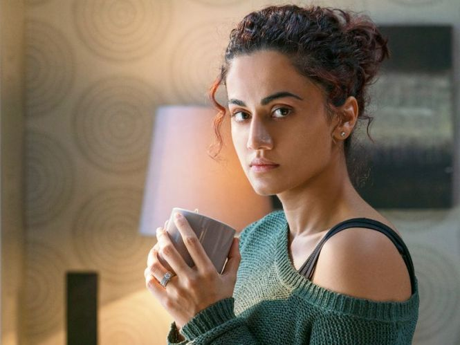 A still of Taapsee pannu from the movie Badla