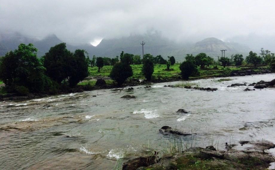 Ghatghar River bhandardara