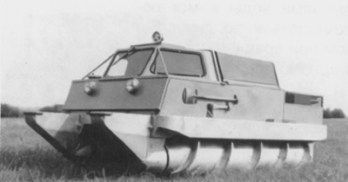 Shnekohod (Russian all terrain tank