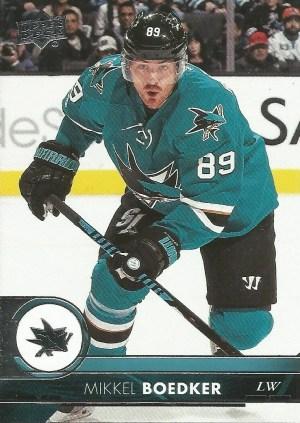 San Jose Sharks, Mikkel Boedker