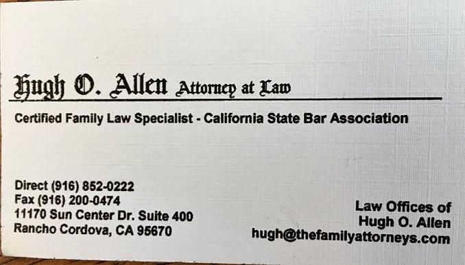 Hugh O. Allen Attorney at Law