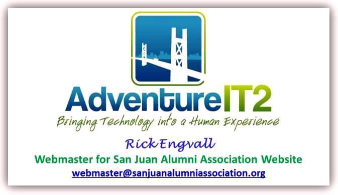 SJAA Rick Engvall Webmaster