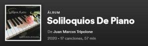Soliloquios de piano: el álbum de Juan Marcos Tripolone