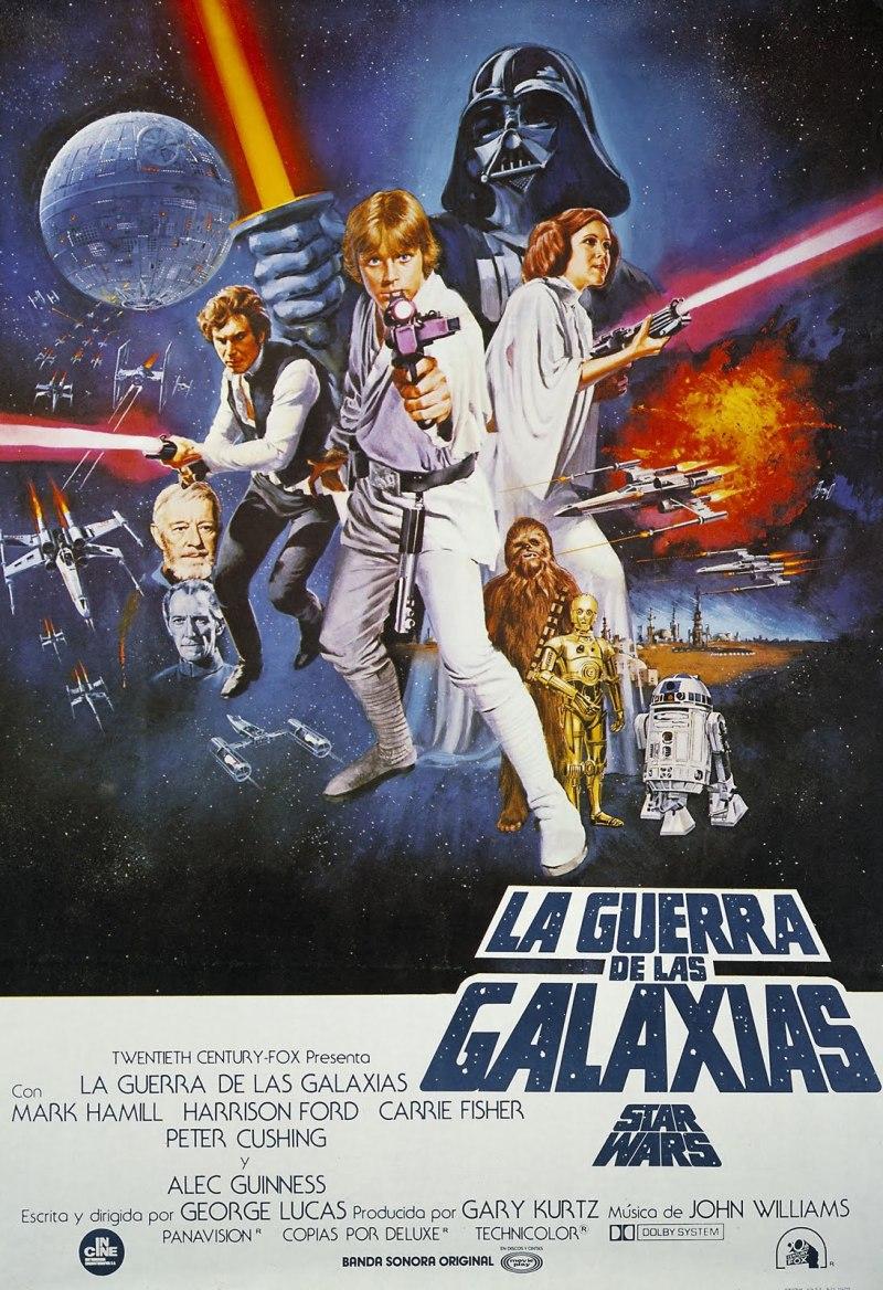 Star Wars, Episodio IV: Una nueva esperanza, de George Lucas