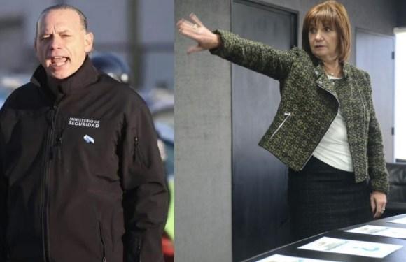 """Sergio Berni arremetió contra Patricia Bullrich: """"Tiene un accionar típico del bombero piromaníaco"""""""