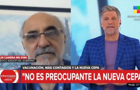 """Un asesor de Alberto Fernández advirtió que la nueva cepa de coronavirus """"no es preocupante"""""""