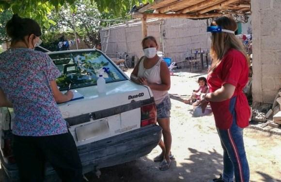 El equipo de Salud de Sarmiento realiza controles médicos a pobladores de Cochagual
