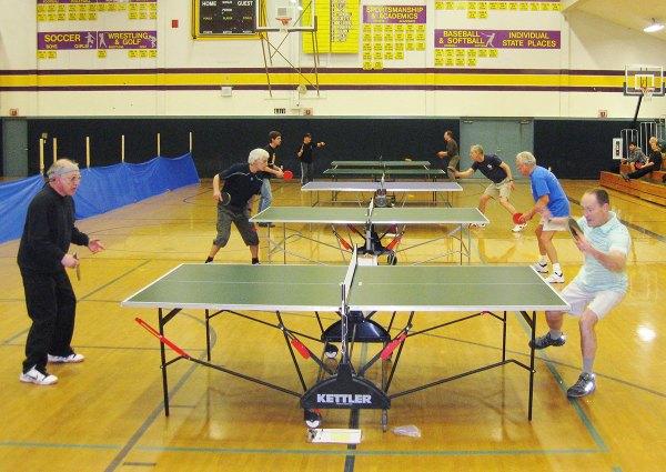 2nd Annual Table Tennis Tournament   San Juan Island Update