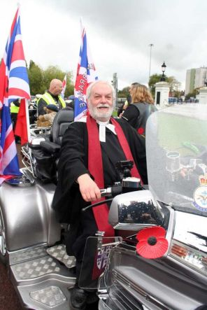 WBM Joins Royal British Legion Bikers on Memorial Sunday