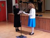 The Rev'd Dr Sheryl Anderson Formally Welcoming The Rev'd Linda Bishop