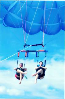 4 Parasailing with Bestie 2