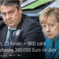 Lieber deutscher Schlafmichel, wähle diesmal irgendwas...ABER WÄHLE, wenn Du das Merkel, ihre Systemmarionetten und den angekarrten Migrantenmob wieder loswerden möchtest - DIES IST DEINE LETZTE CHANCE!!!