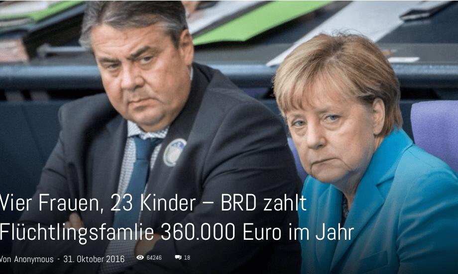 Lieber deutscher Schlafmichel, wähle diesmal irgendwas…ABER WÄHLE, wenn Du das Merkel, ihre Systemmarionetten und den angekarrten Migrantenmob wieder loswerden möchtest – DIES IST DEINE LETZTE CHANCE!!!