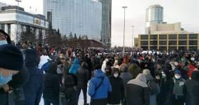 În zeci de oraşe din Federația Rusă au loc acțiuni de protest pentru libertate şi împotriva arestării ilegale a lui Alexei Navalny 6
