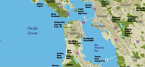 Bay Area Green Spaces