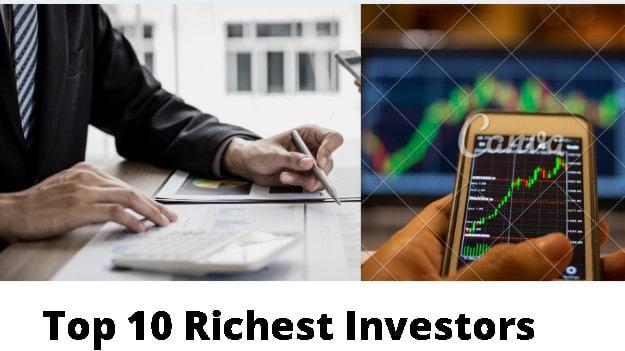 Top 10 richest investor