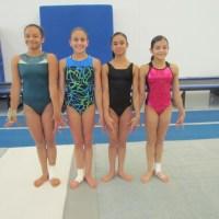 Selección juvenil de gimnasia de Guatemala, entrena en La Loma CD