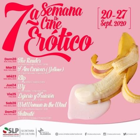Semana de Cine Erótico en Cineteca Alameda