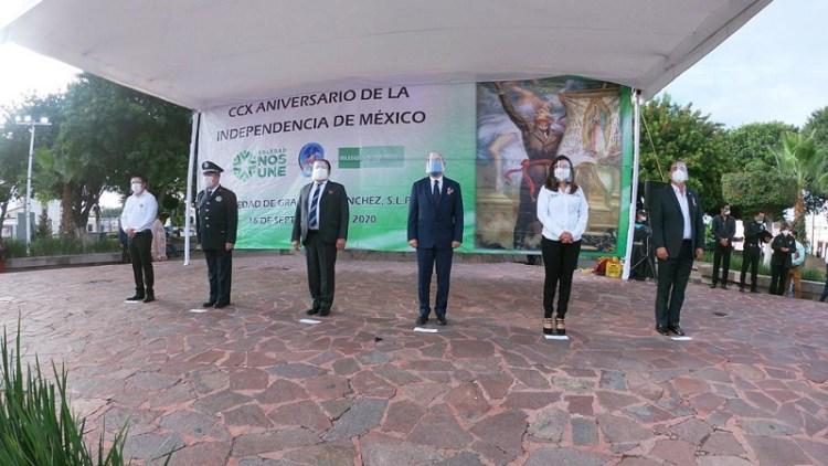 Alcalde de Soledad encabezó acto cívico del CCX Aniversario del Inicio de la Independencia