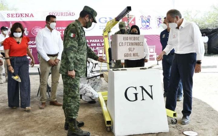 JM Carreras, arrancó construcción de compañias de la GN en región Media y Altiplano