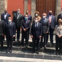 Gobernadores de la CONAGO encabezados por JM Carreras, se reunieron con el Secretario de Hacienda
