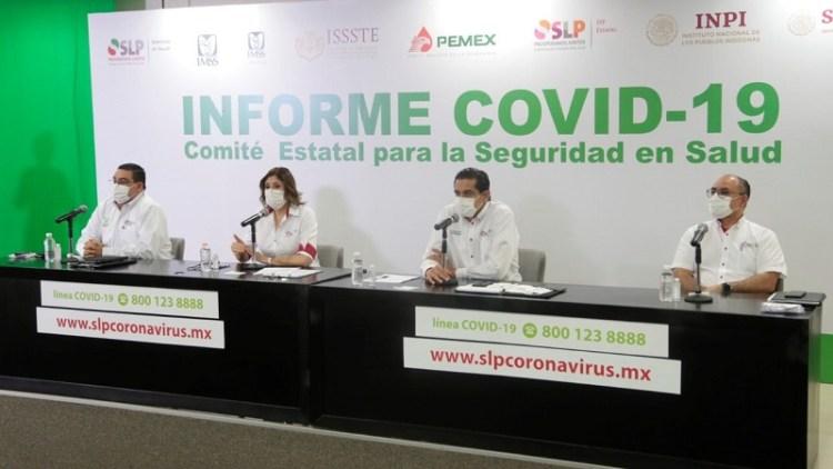 Registra SLP, séptima semana con baja de casos de Covid-19: Mónica Rangel