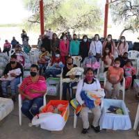 Los apoyos de DIF Estatal siguen llegando a las familias potosinas