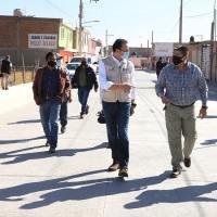 Entrega gobierno capitalino, más calles modernizadas al norte de SLP