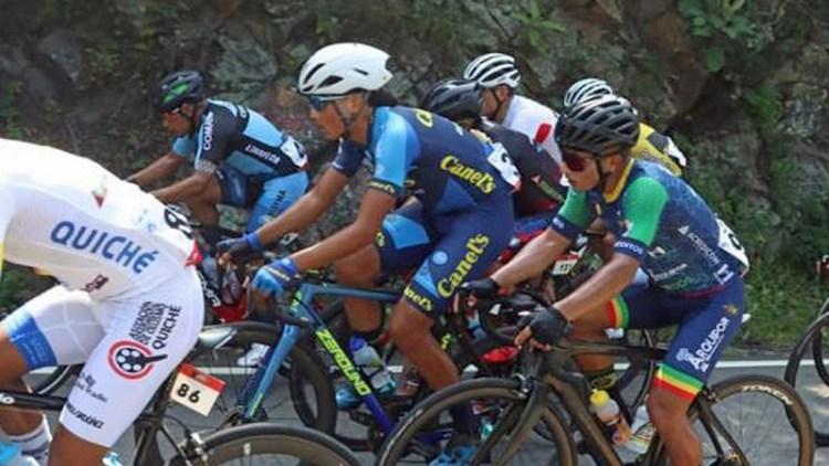 4° par Santiago Ordoñez de CANEL´S-ZEROUNO en Etapa 2 Vuelta a Guatemala 2020