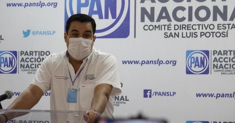 Encuestas para depurar aspirantes a la gubernatura del PAN, suspendidas: Aguilar Hernández