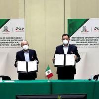 Acuerdan gobernadores, reforzar vigilancia y patrullaje coordinado en límites de SLP y Zacatecas