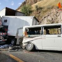 Fatal carambola en la Carretera 57; dos muertos y un herido