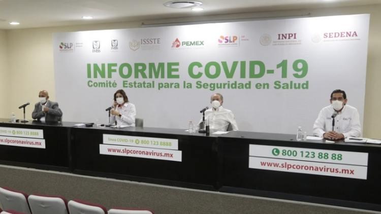 Vuelven a incrementar los casos de Covid-19 y SLP ya supera los 25 mil contagios
