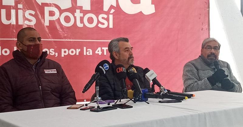 Dirigencia estatal de Morena, celebra que se descartara coalición con el PVEM