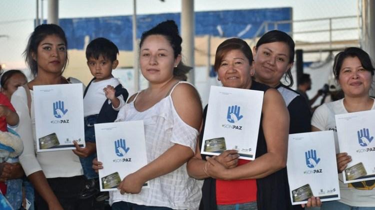 """Durante 2020, se beneficiaron 20 mil familias con el programa """"En Son de Paz"""""""