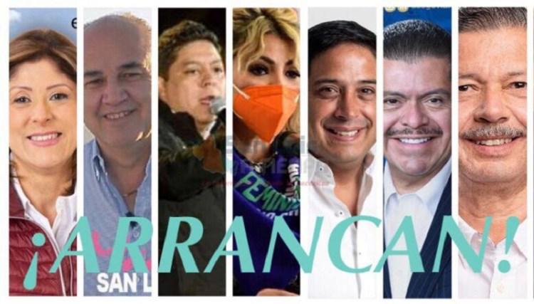 Inician campaña los candidatos a la gubernatura de San Luis Potosí