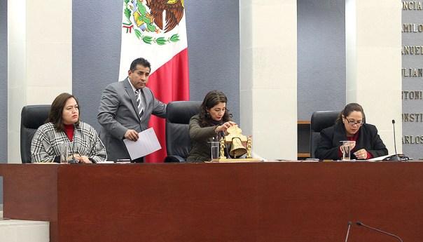La Diputación Permanente convocó al pleno del Congreso a periodo extraordinario, el jueves 21de enero, para analizar diversos asuntos en beneficio de la población del estado