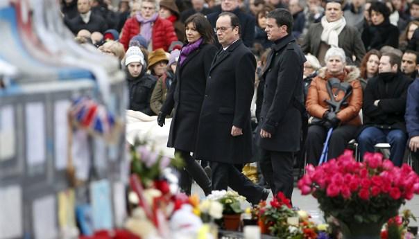 Francia rinde tributo a las victimas del terrorismo