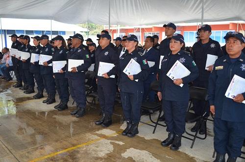 Preparan a elementos de SLP en habilidades Policiales