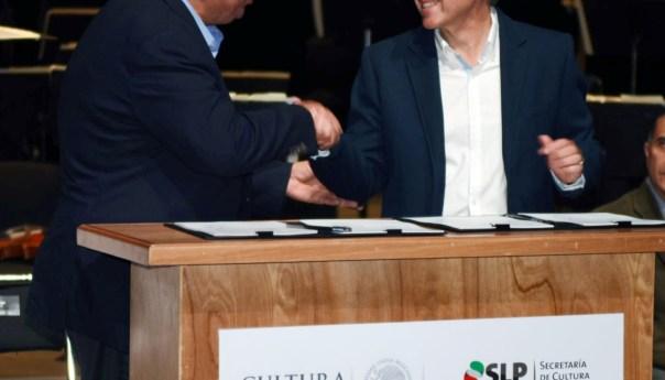 JM Carreras Firma Convenio para Fortalecer Desarrollo Cultural y Artístico de SLP