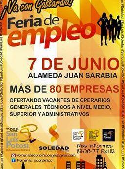 Ricardo Gallardo Invita a la Primera Feria del Empleo Intermunicipal, más de 140 empresas ofertaran más de 4 mil oportunidades laborales