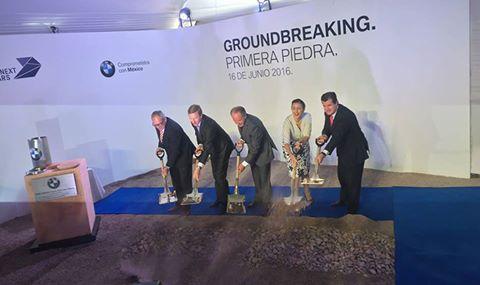 Colocan la primera Piedra de la Planta BMW en SLP